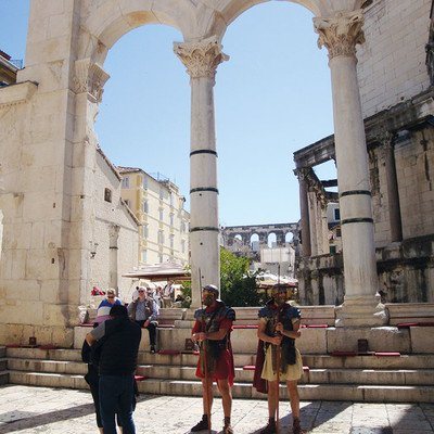 Diokleianpalast und Kathedrale in Split