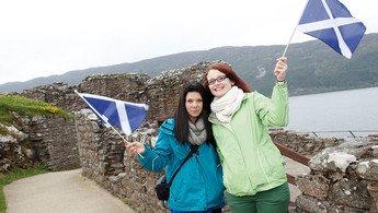 Klassenfahrt Inverness und Edinburgh