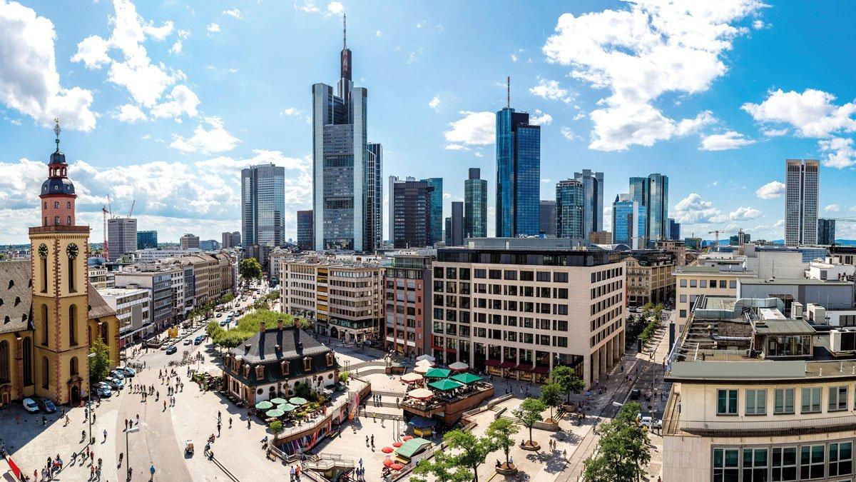 Frankfurt Financial District