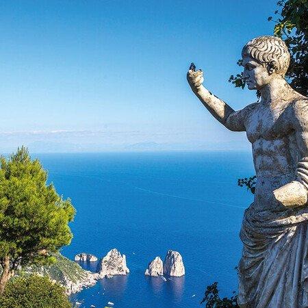 Alle Programmbausteine Rom und Golf von Sorrent auf einen Blick