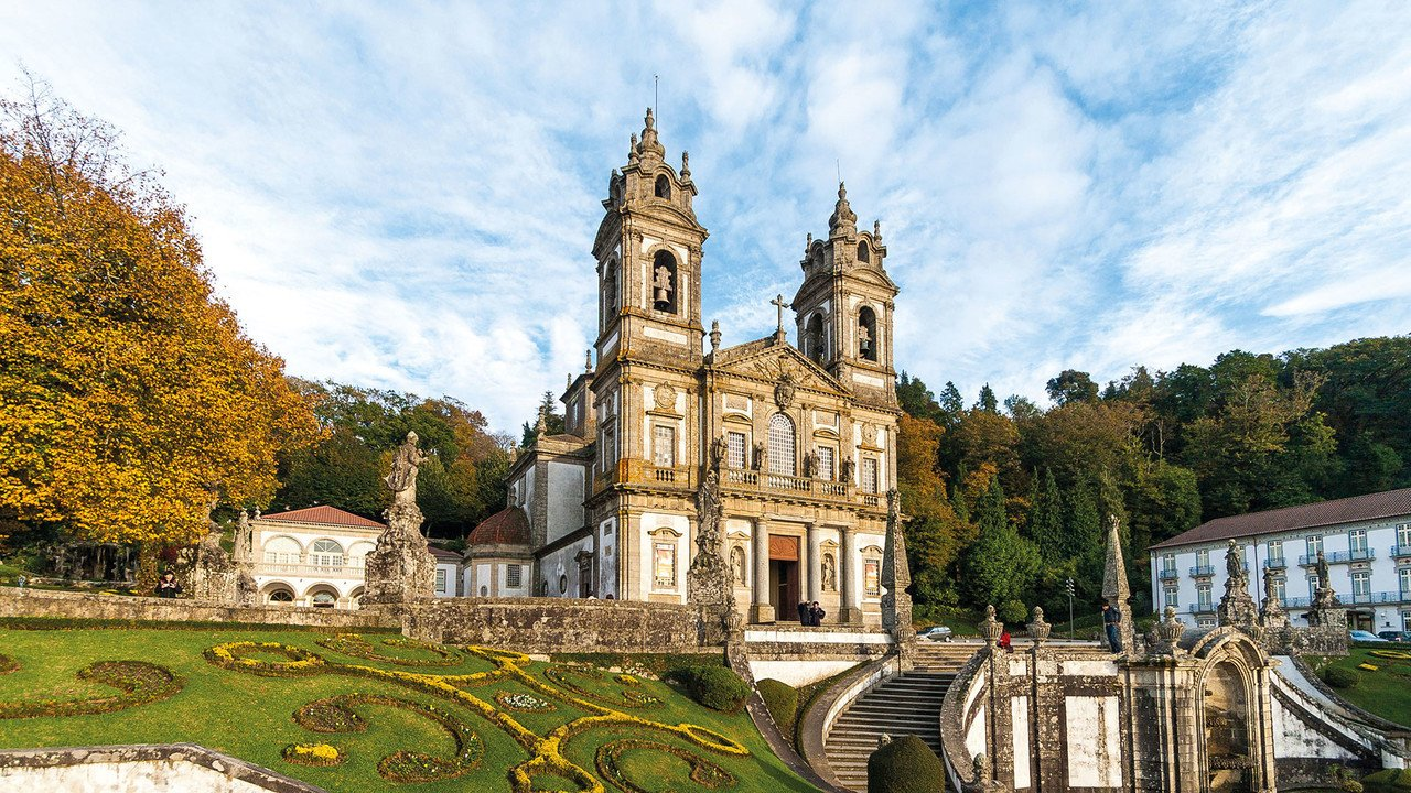 Kathedrale Barga in Portugal