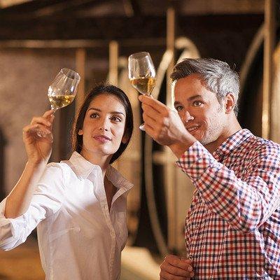 Weinprobe mit Imbiss