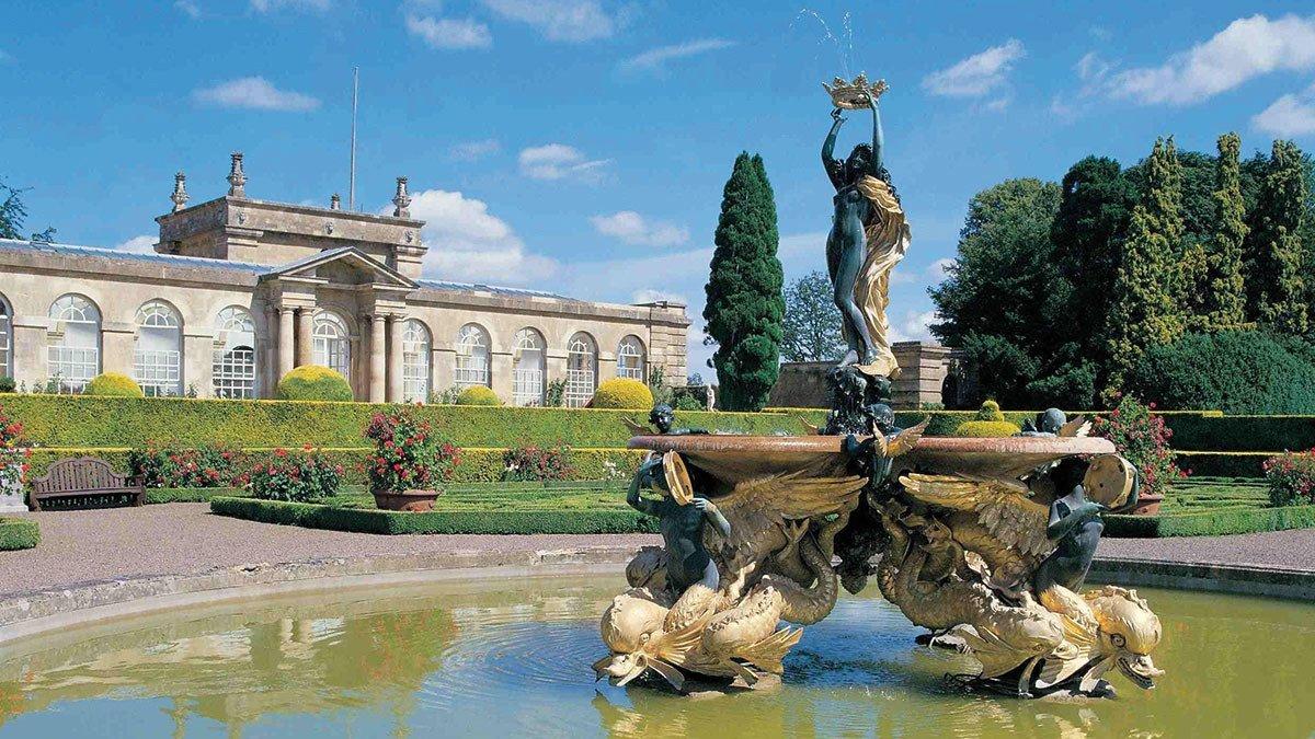 Oxfordshire-Blenheim-Palace-Garten