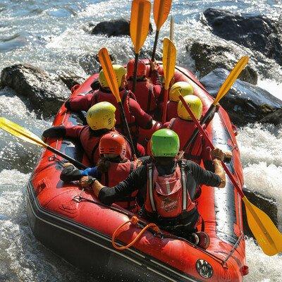 Rafting auf der Loisach