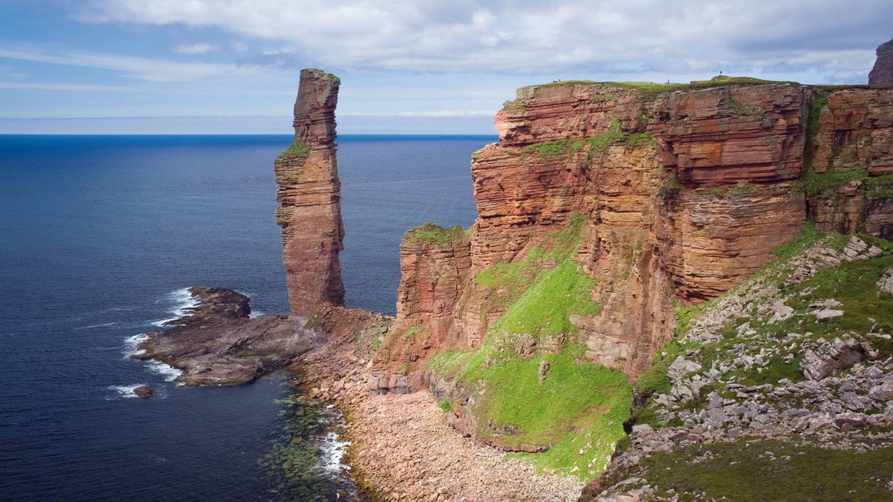 Orkney-Inseln old man of hoy