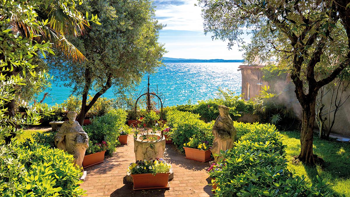 Gardasee Garten
