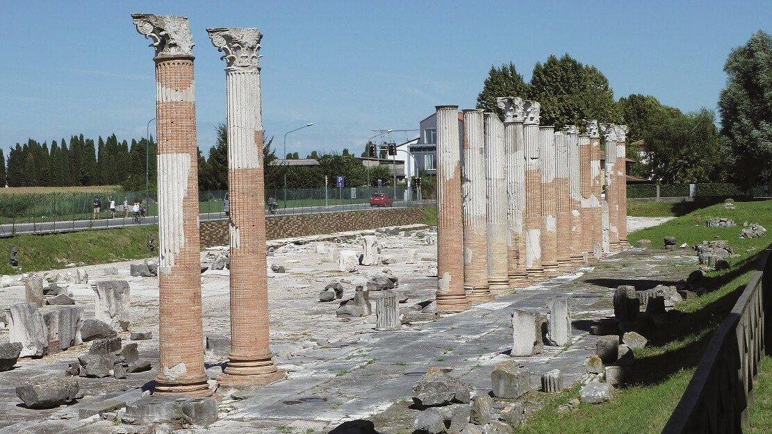 Blick auf Aquileia