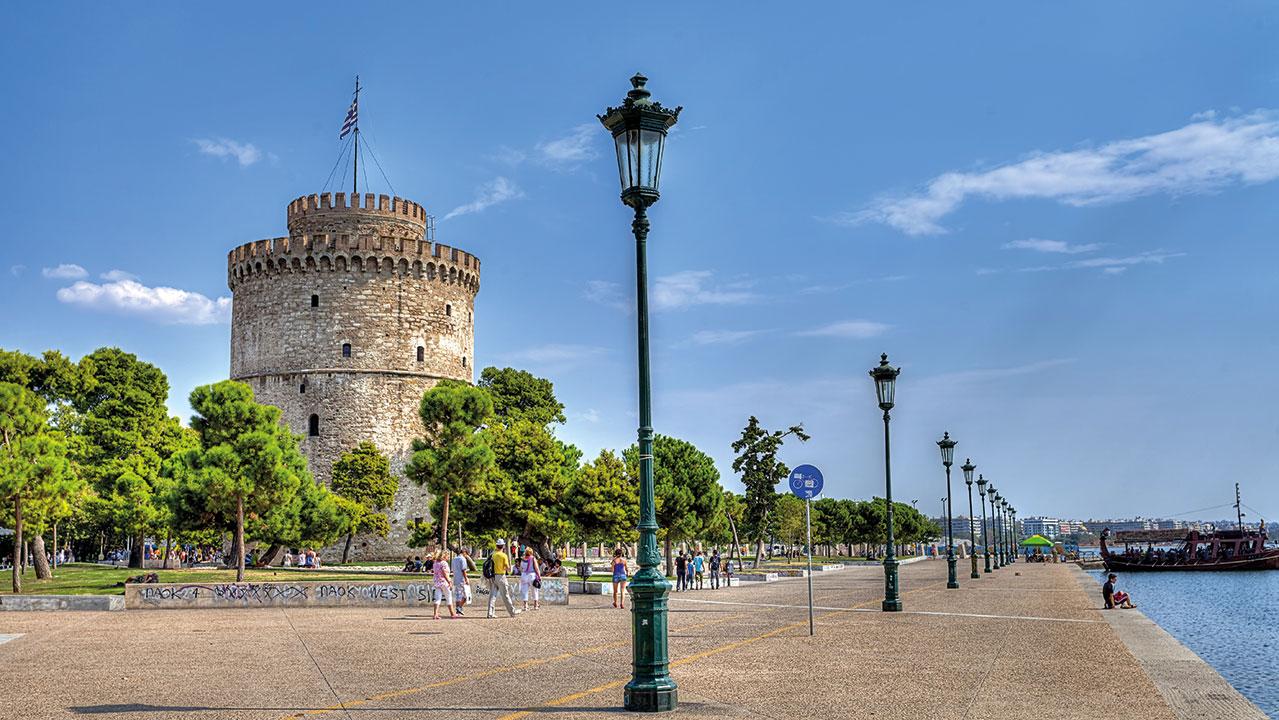 Thessaloniki Weisser Turm Promenade