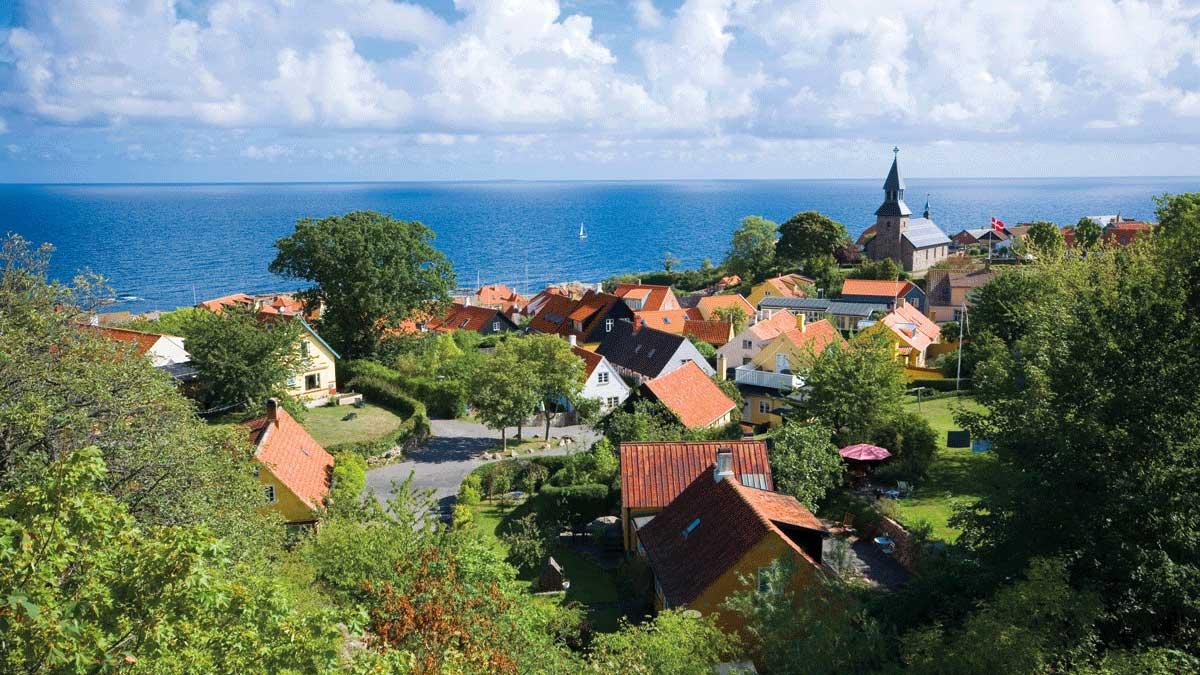 Bornholm Luftbild