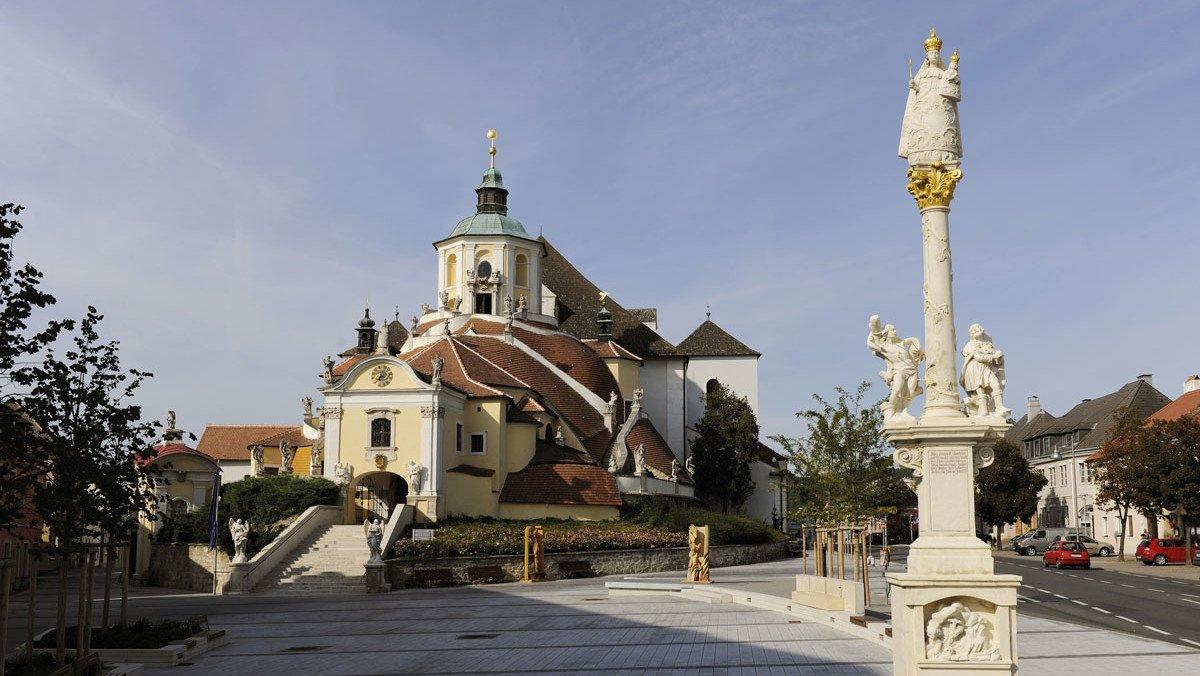 Neusiedler See mit Blick auf die Haydnkirche