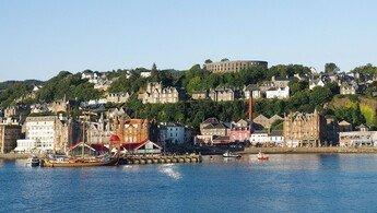 Klassenfahrt Oban und Edinburgh