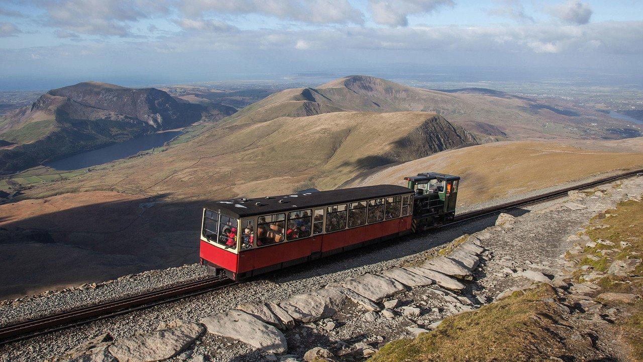 Wales Eisenbahn im Snowdonia Nationalpark