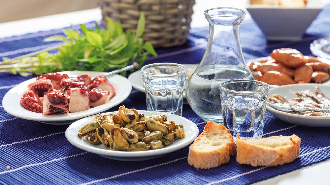 Leckeres Essen in Griechenland