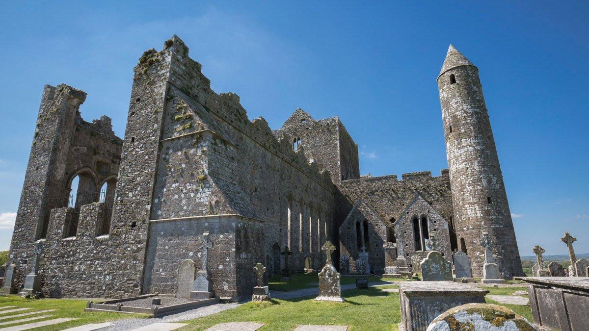 Rock Of Cashel in Irland