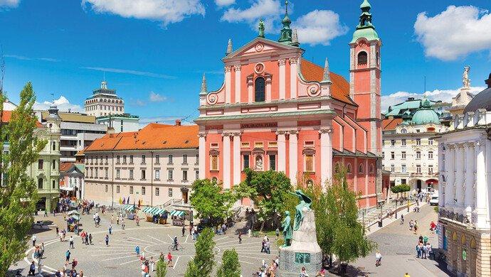 Klassenfahrt Ljubljana