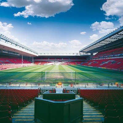 Anfield Stadion Toure
