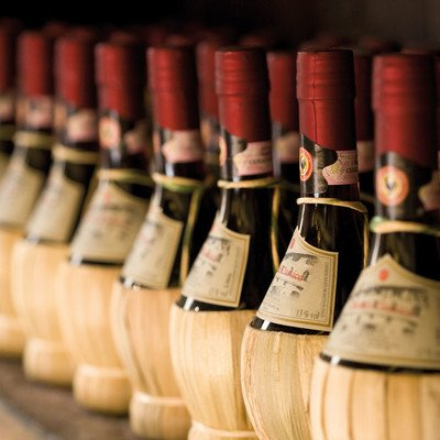 Weinprobe imChiantigebiet
