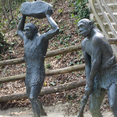 Neandertaler in Krapina