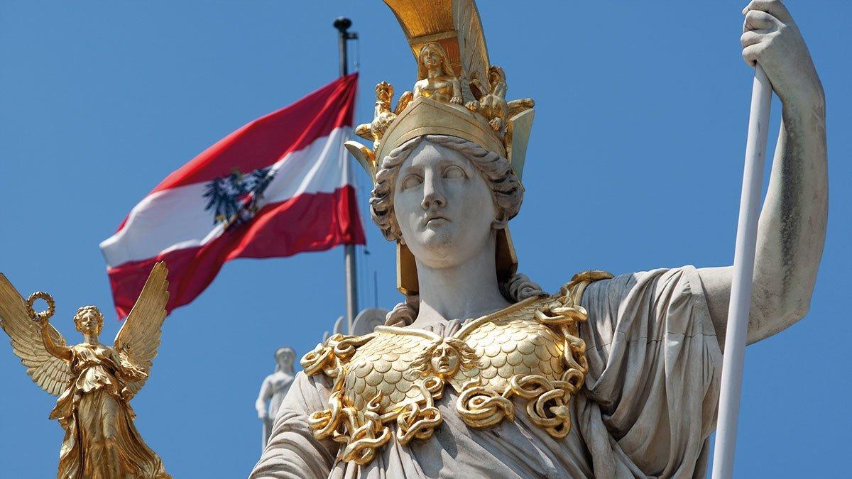 Statue in Wien