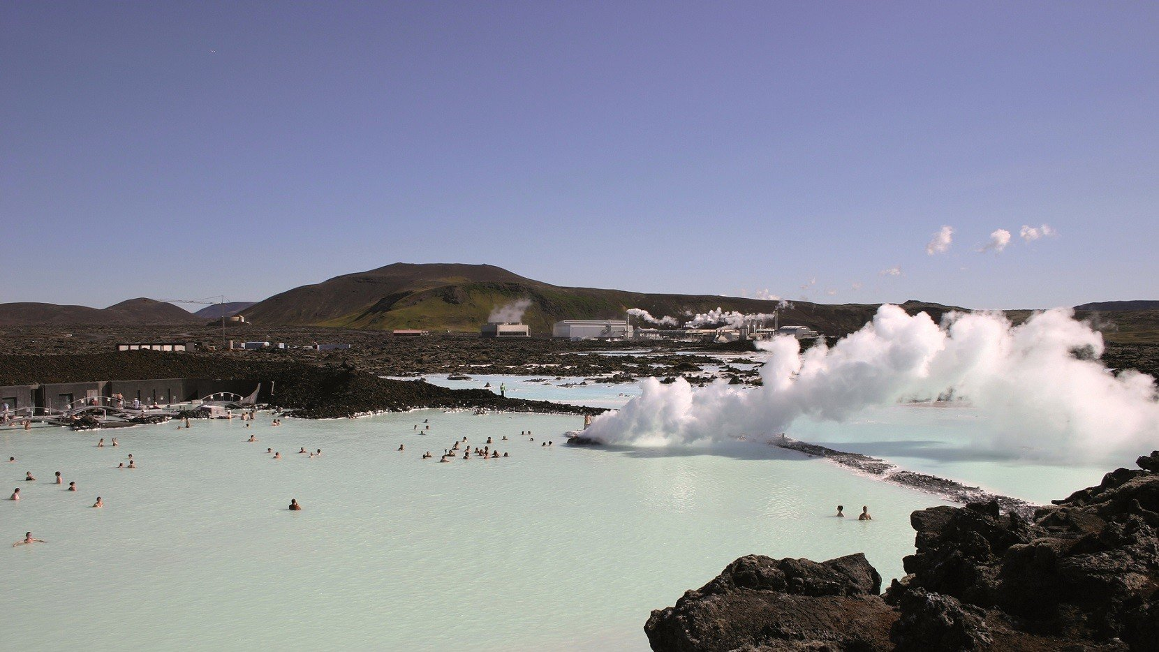 Blaue Lagune in Island