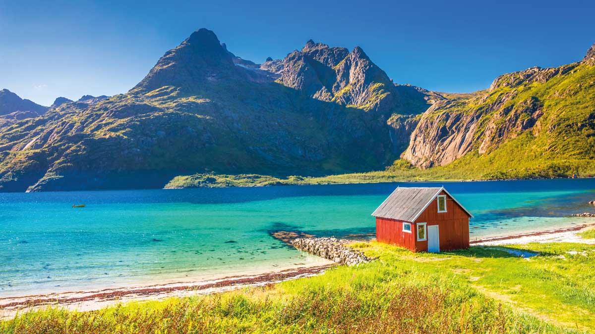 Haus am Trollfjord