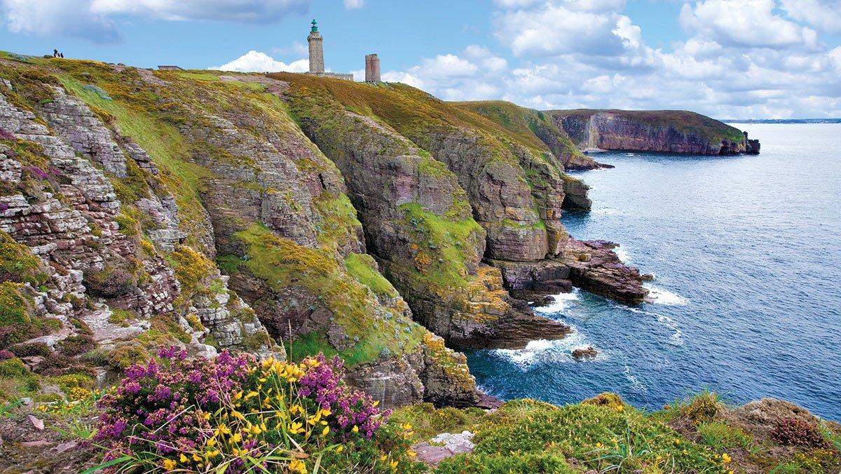 Bretagne Blick auf Cap-Fréhel