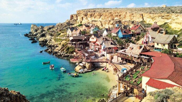 Flugreise nach Malta