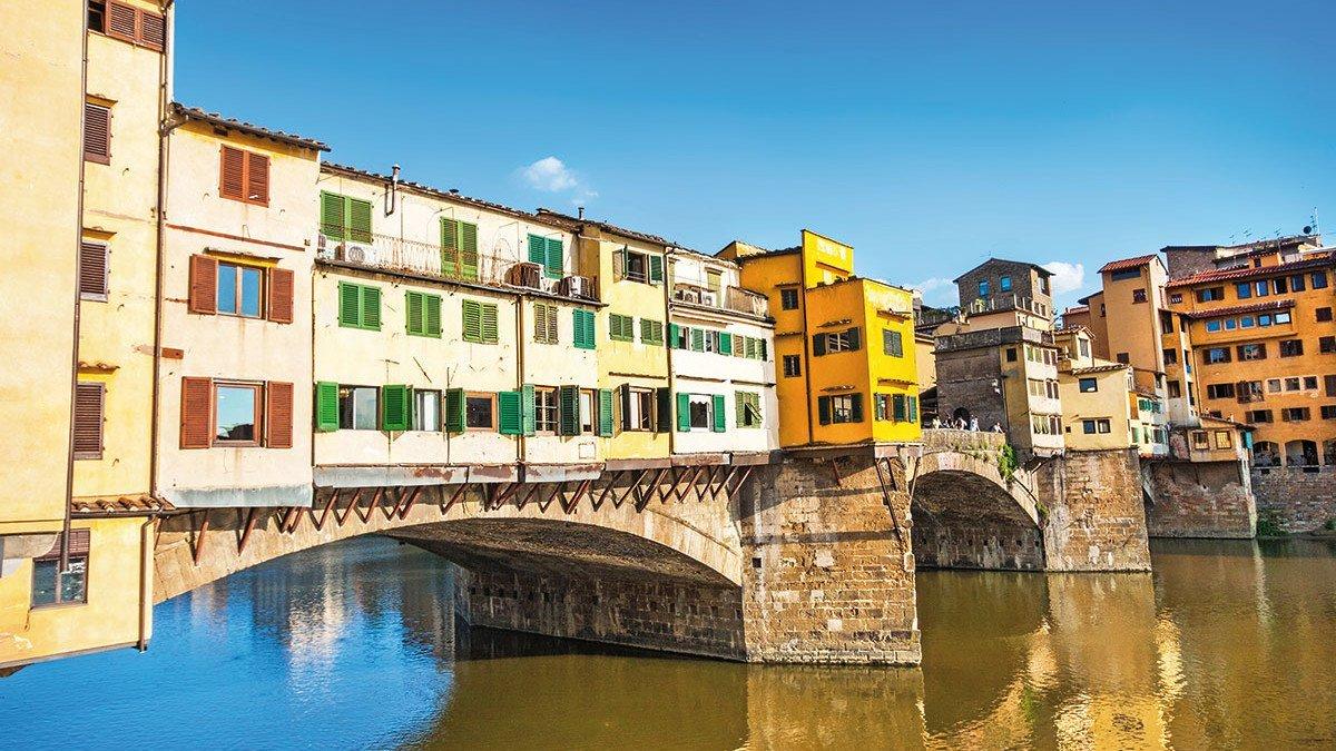Stadtansicht von Florenz