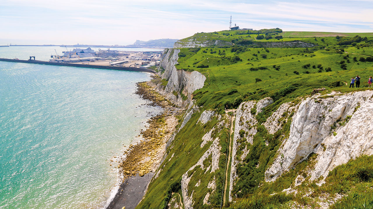 Dover White Cliffs Hafen