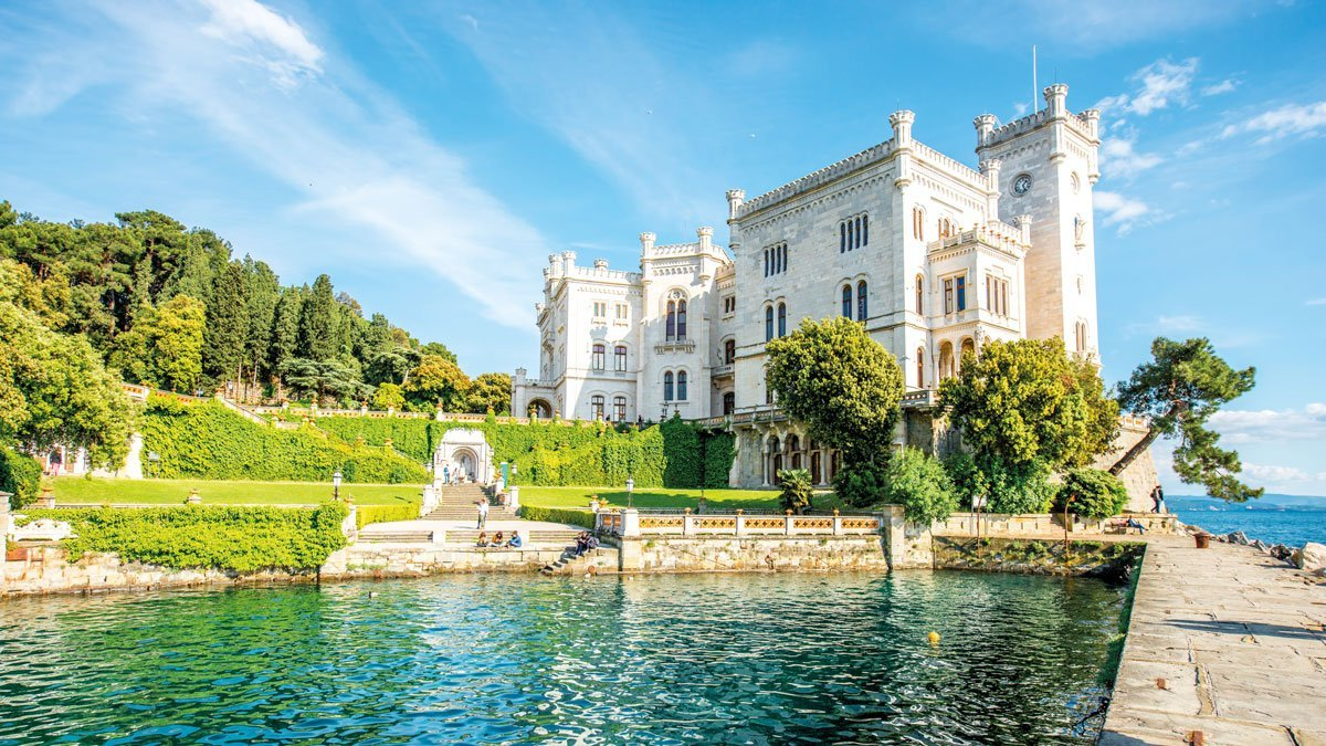 Schloss Miramare in Triest