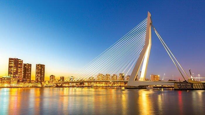 Rotterdam Wilhelmina -Pier