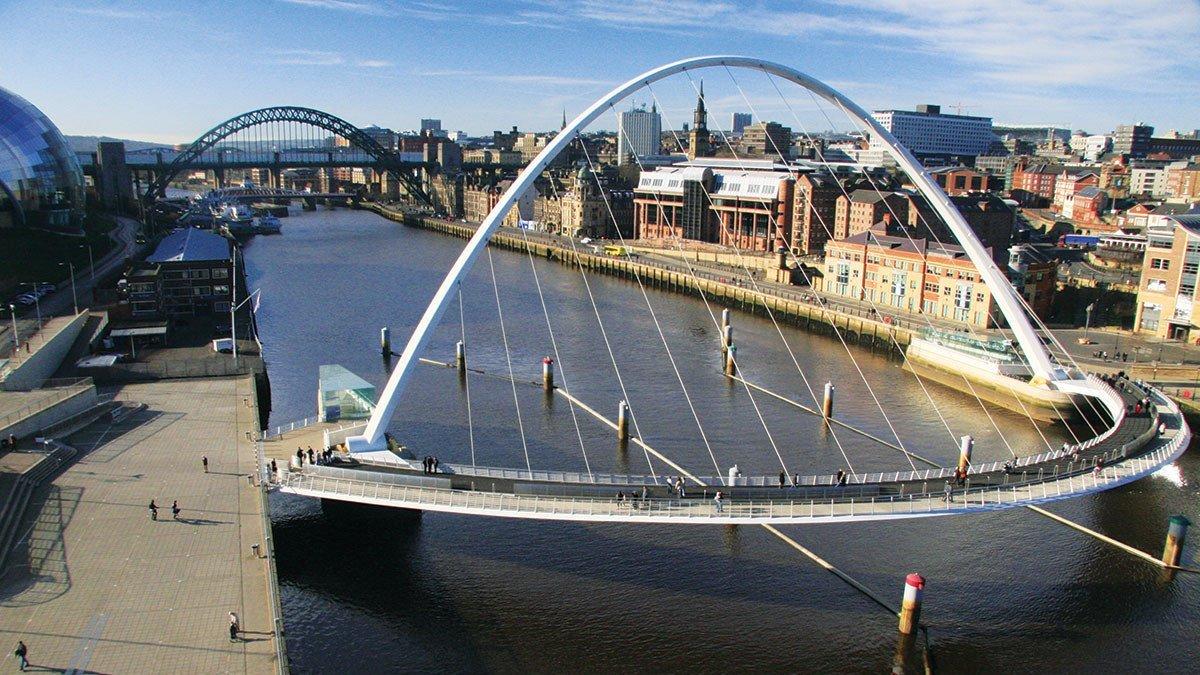 Newcastle mit Brücke