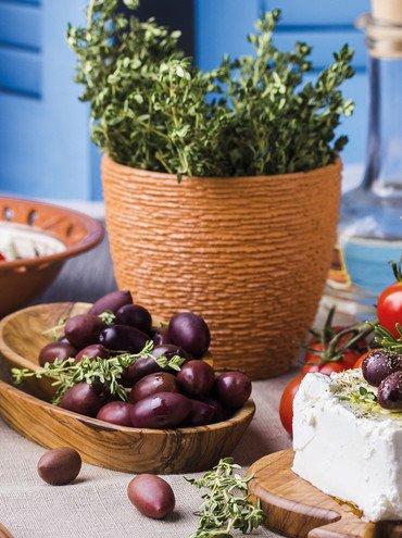 Leckere Oliven auf Kreta