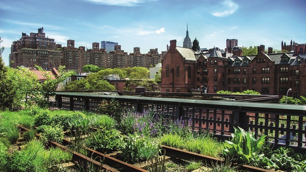 Der Highline-Park in New York City