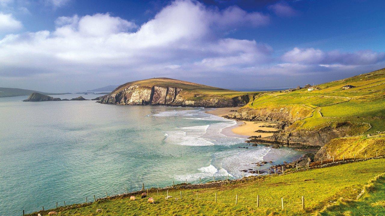 Küstenlandschaft im Südwesten Irlands
