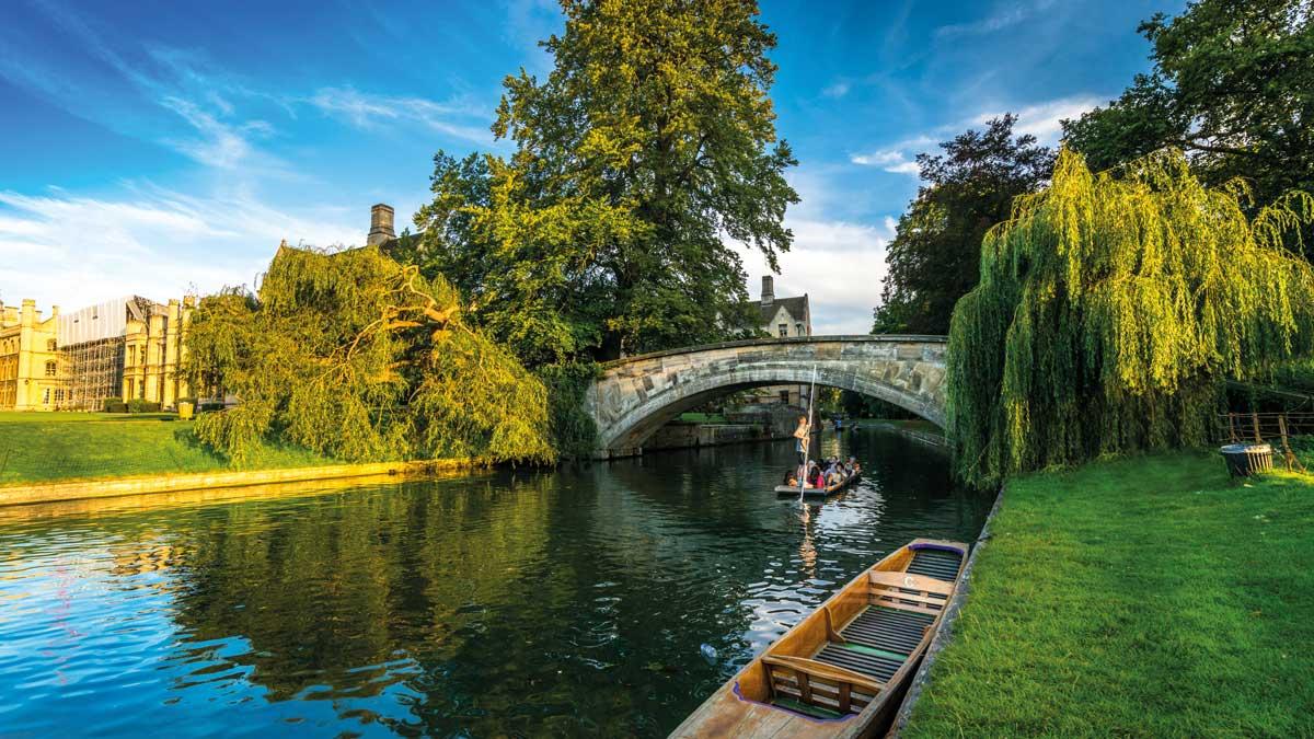 Cambridge am River Cam