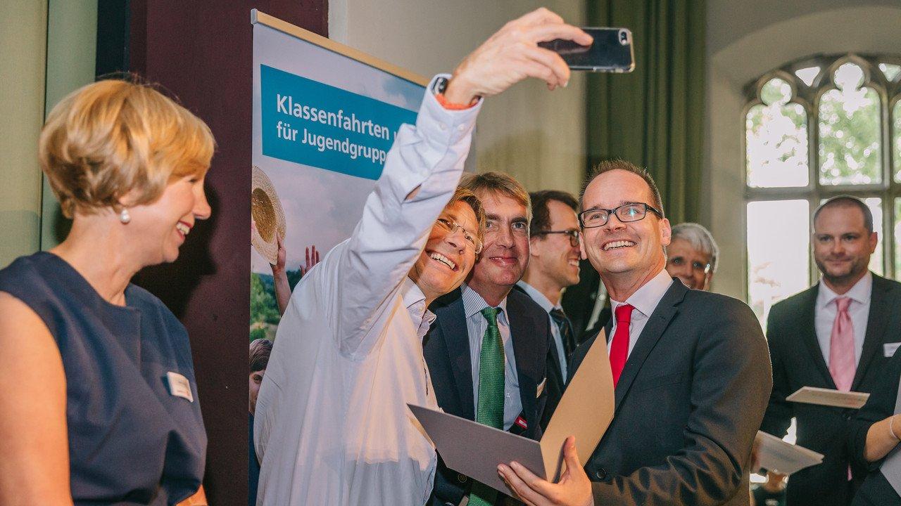 Verleihung des Jugend Forscht Projektbetreuerpreises
