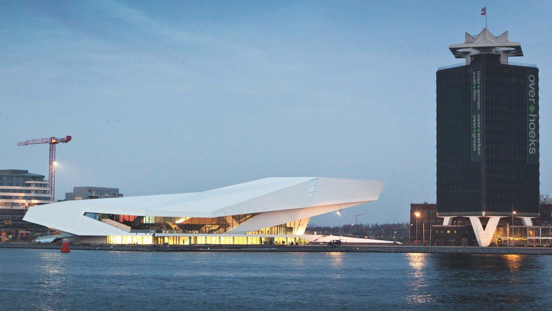 Amsterdam Hafen moderne Architektur
