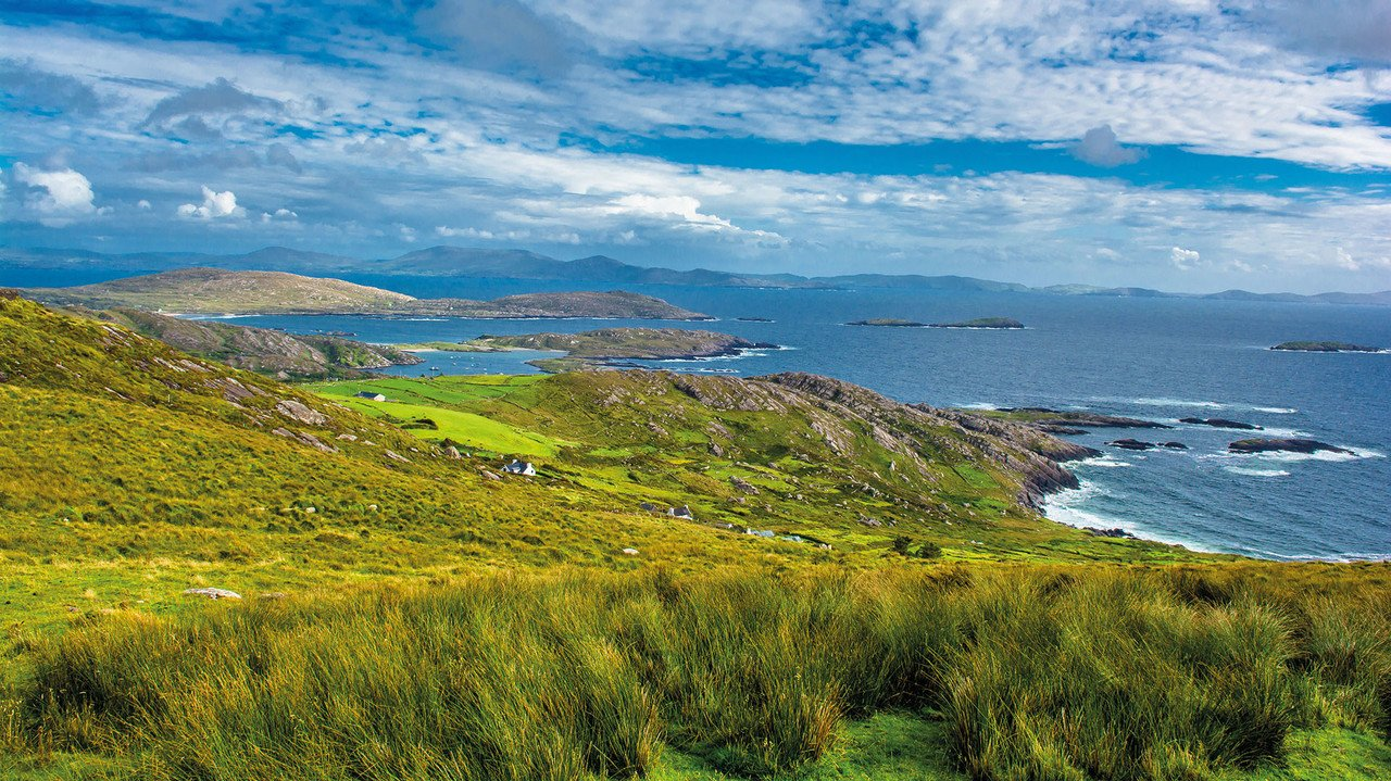 Küstenlandschaft in Irland, Kerry