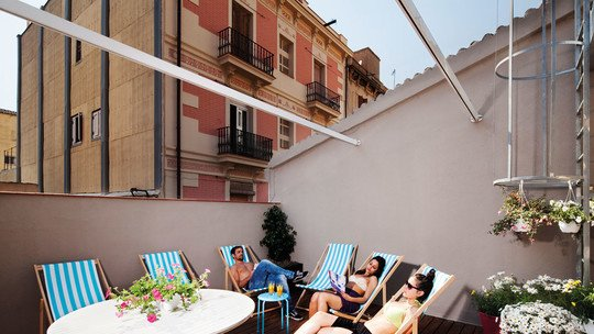 Amistat Beach Hostel in Barcelona