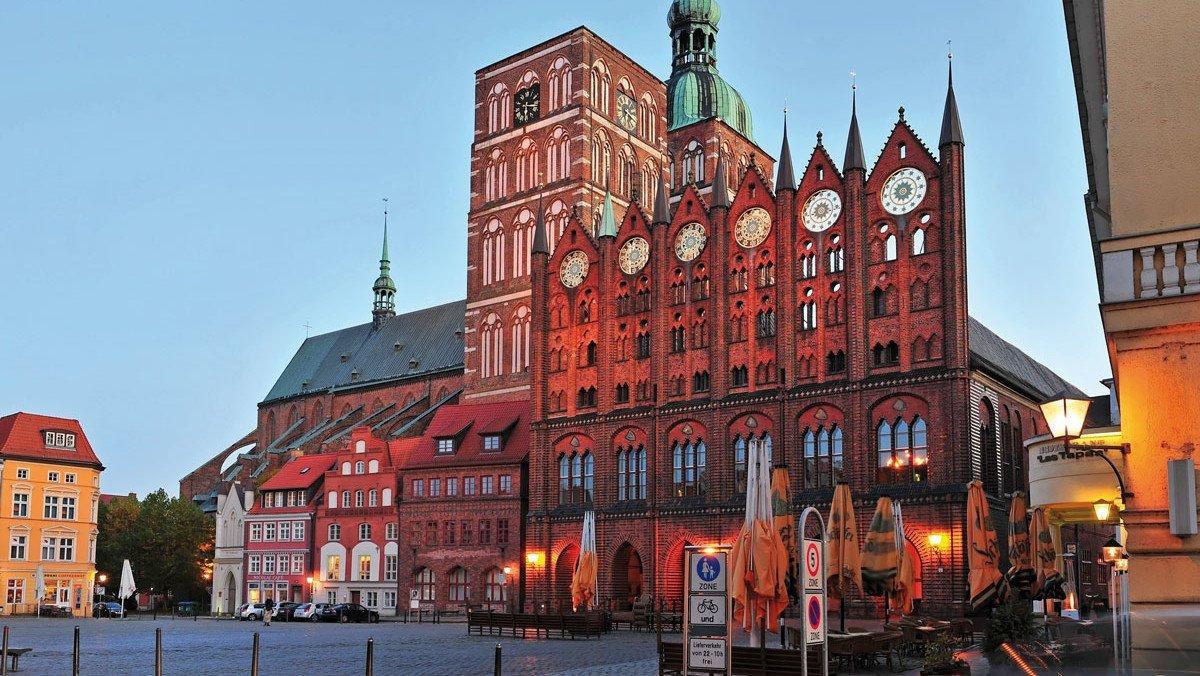 Rathaus in Stralsund