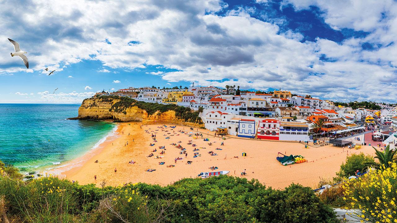 Algarve Strand Carvoeiro