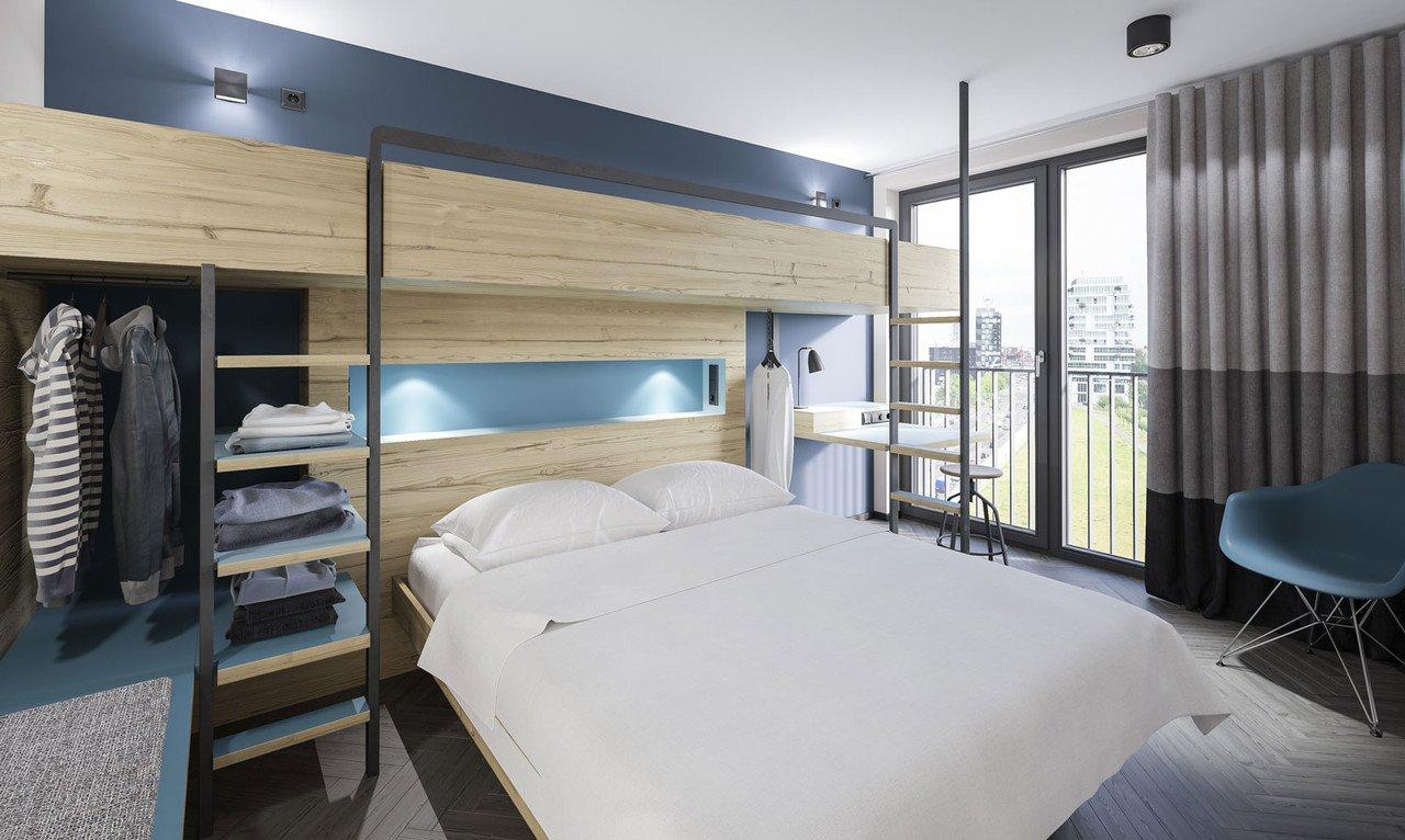 Mehrbettzimmer im Schulz Hotel
