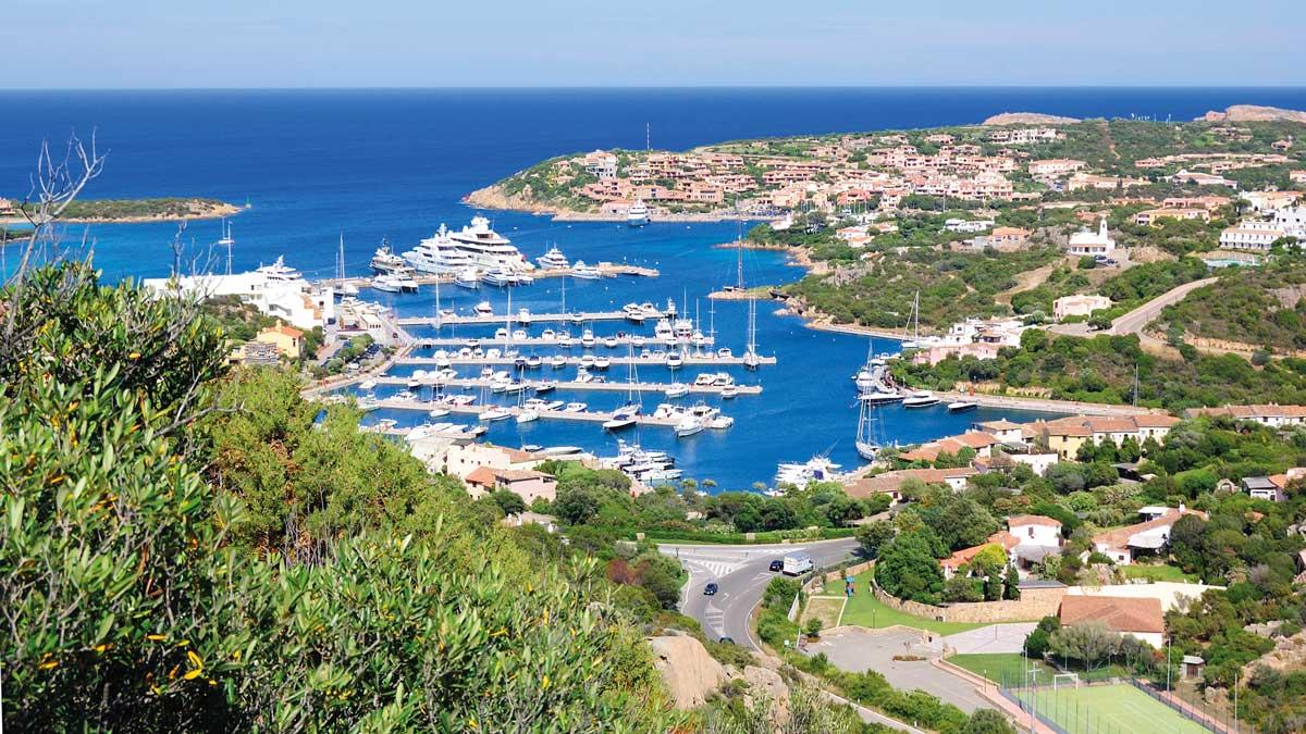 Blick auf die Bucht von Porto Cervo