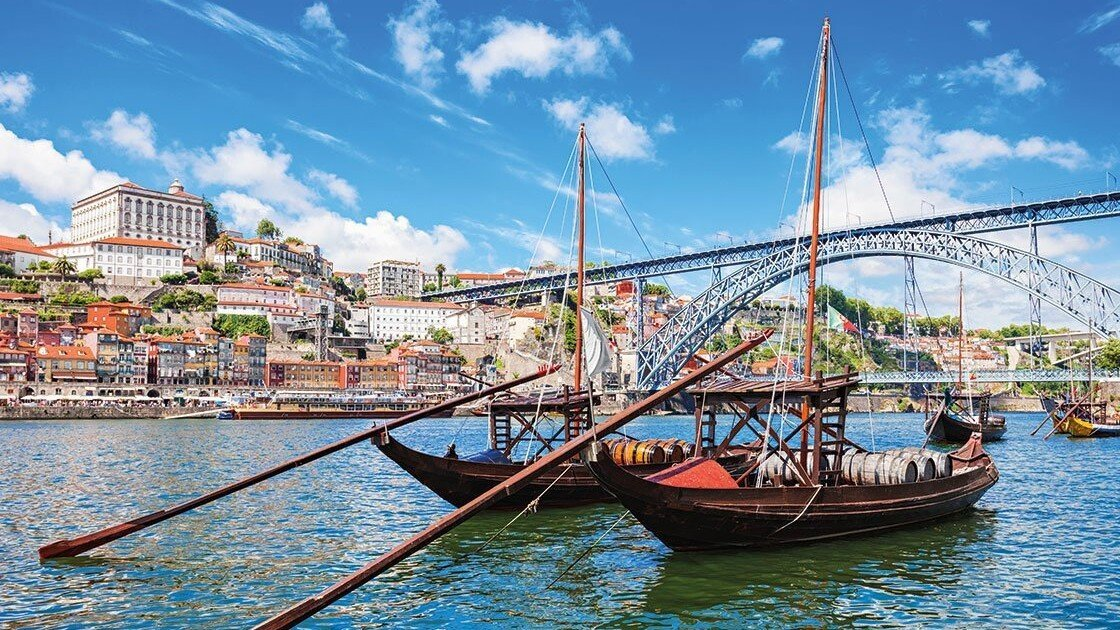 Schiffe in Porto