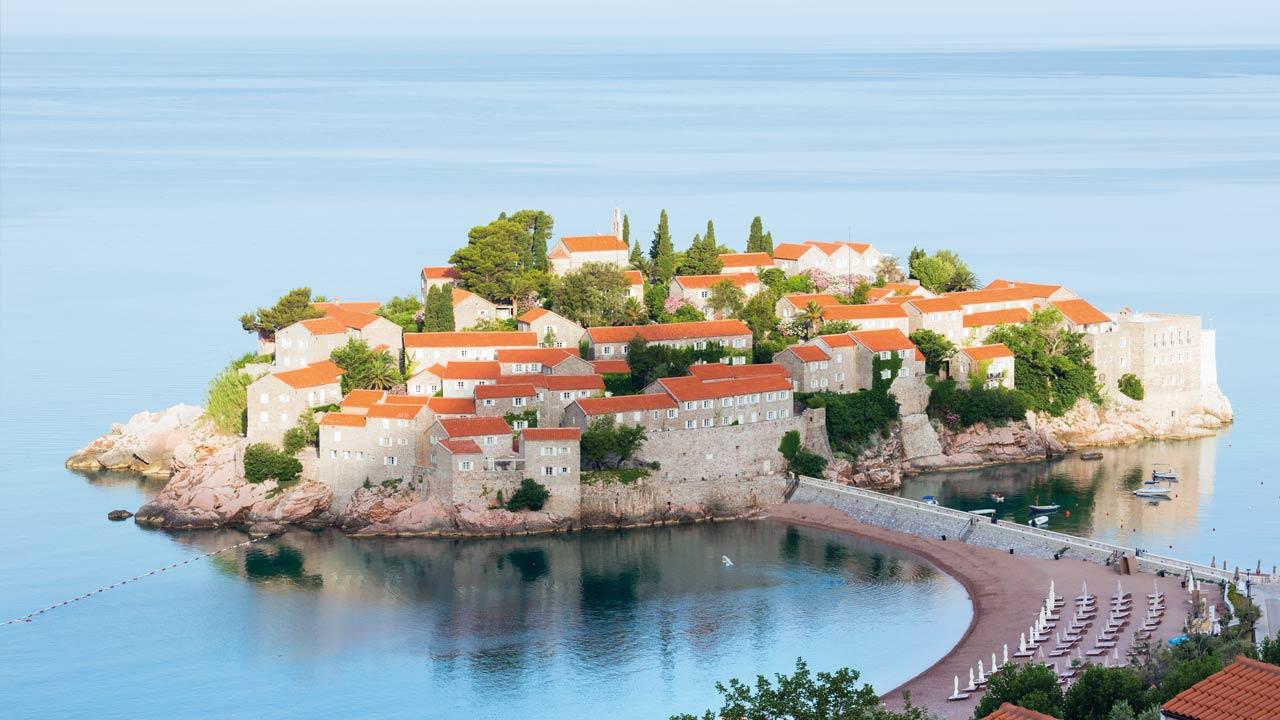 Montenegro: Schöner Ausblick bei Sonnenschein