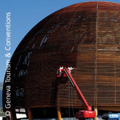 Besuch des CERN in Meyrin