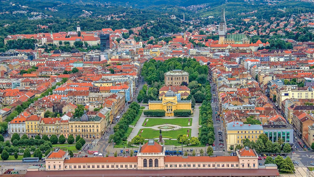 Zagreb Grünes Hufeisen