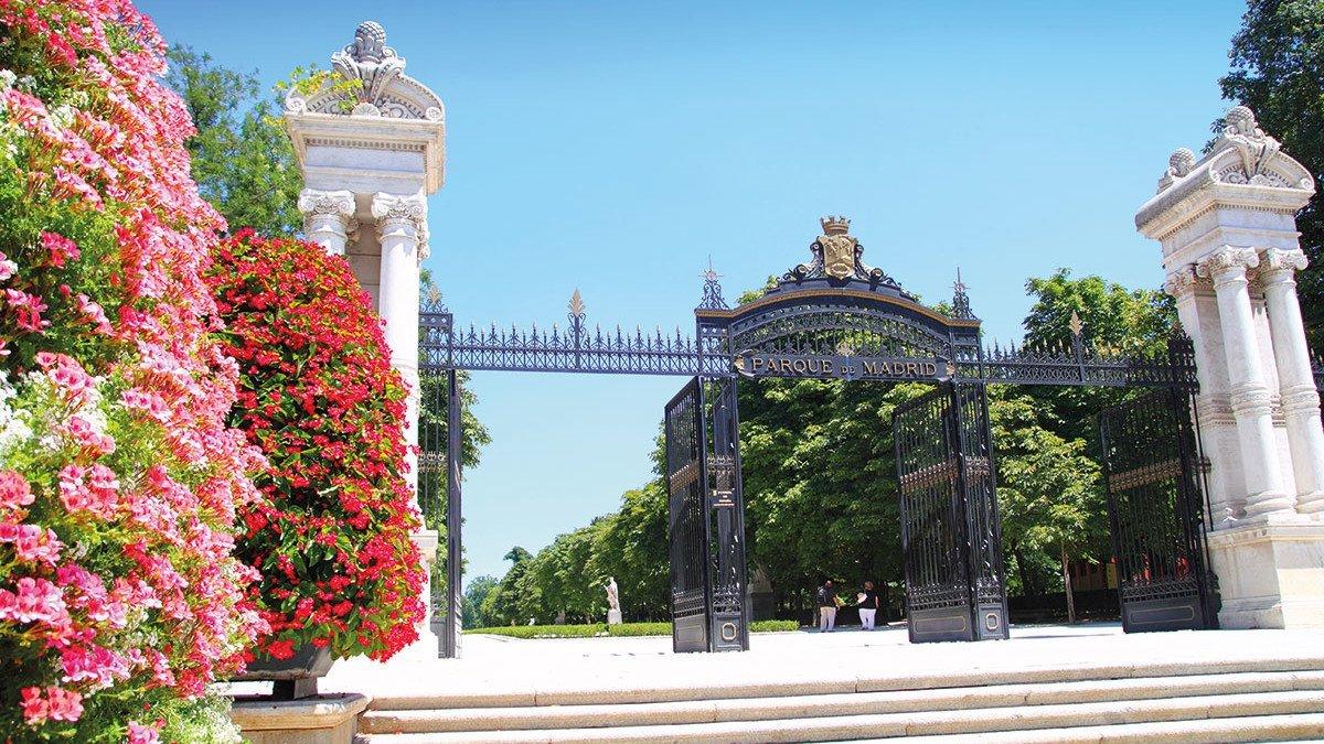 Blick auf die Puerta de Espana