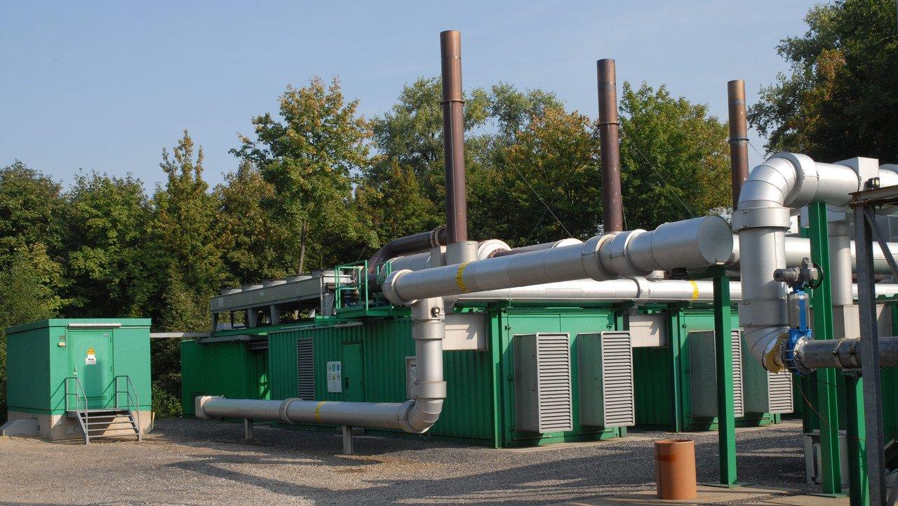 Grubengasanlage in Deutschland